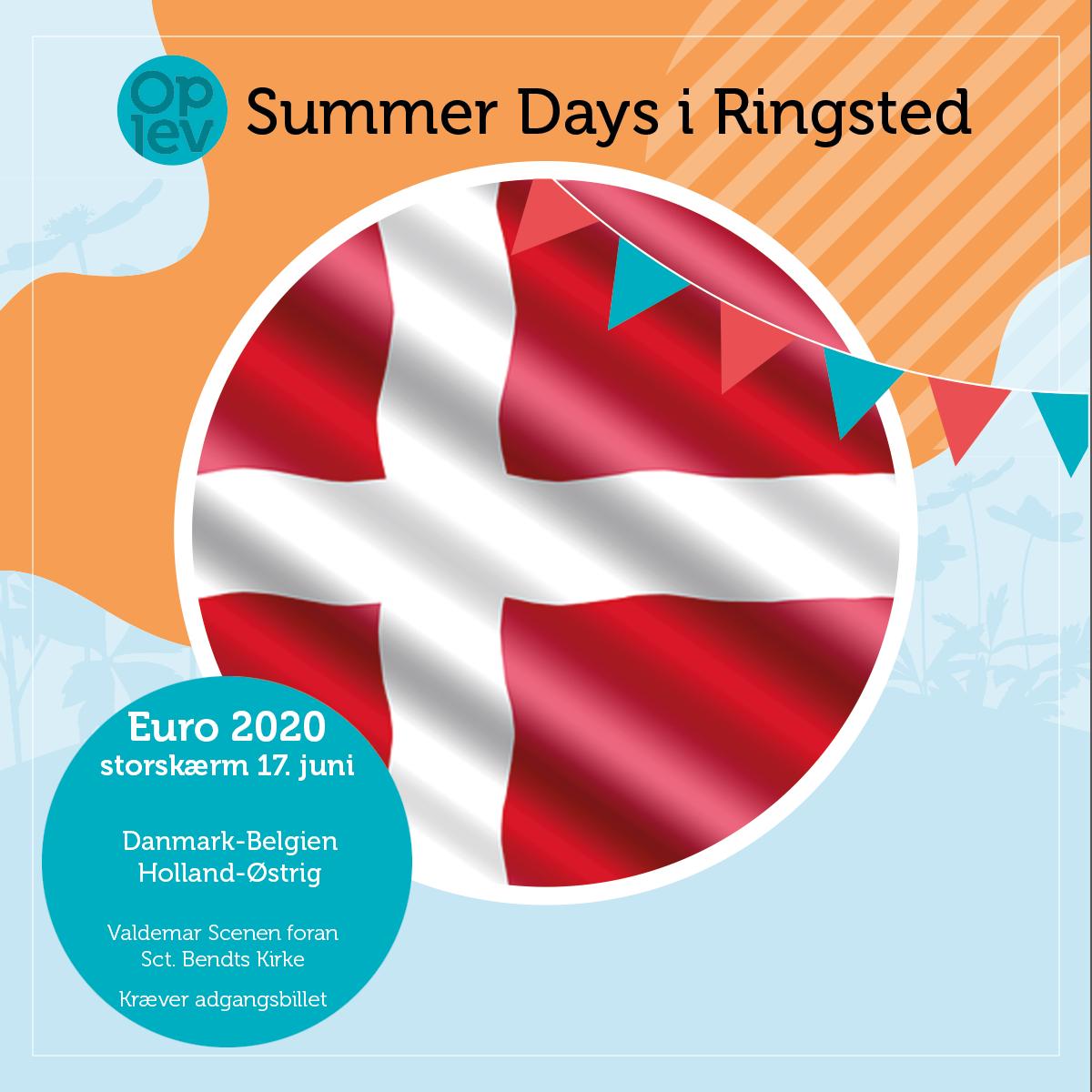 17. juni: Danmark - Belgien