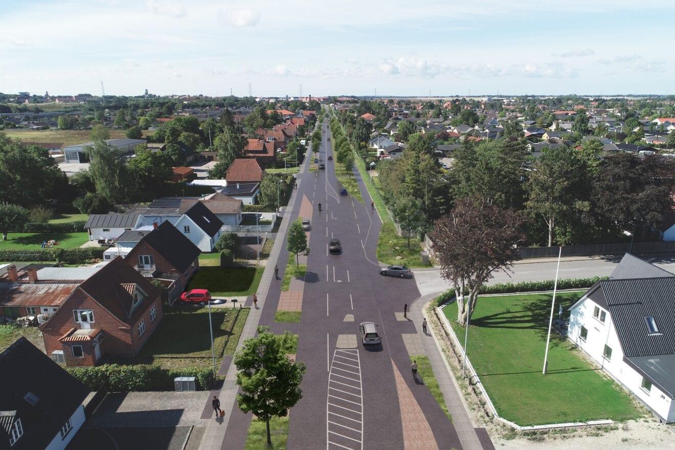 Forsinket med projekt for klimatilpasning og byrumsforskønnelse af Roskildevej