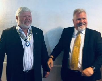 Jørn West er ny præsident for Ringsted Sct. Bendts Rotaryklub