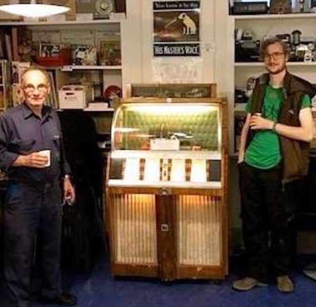 Music Box fra 1956 renoveret