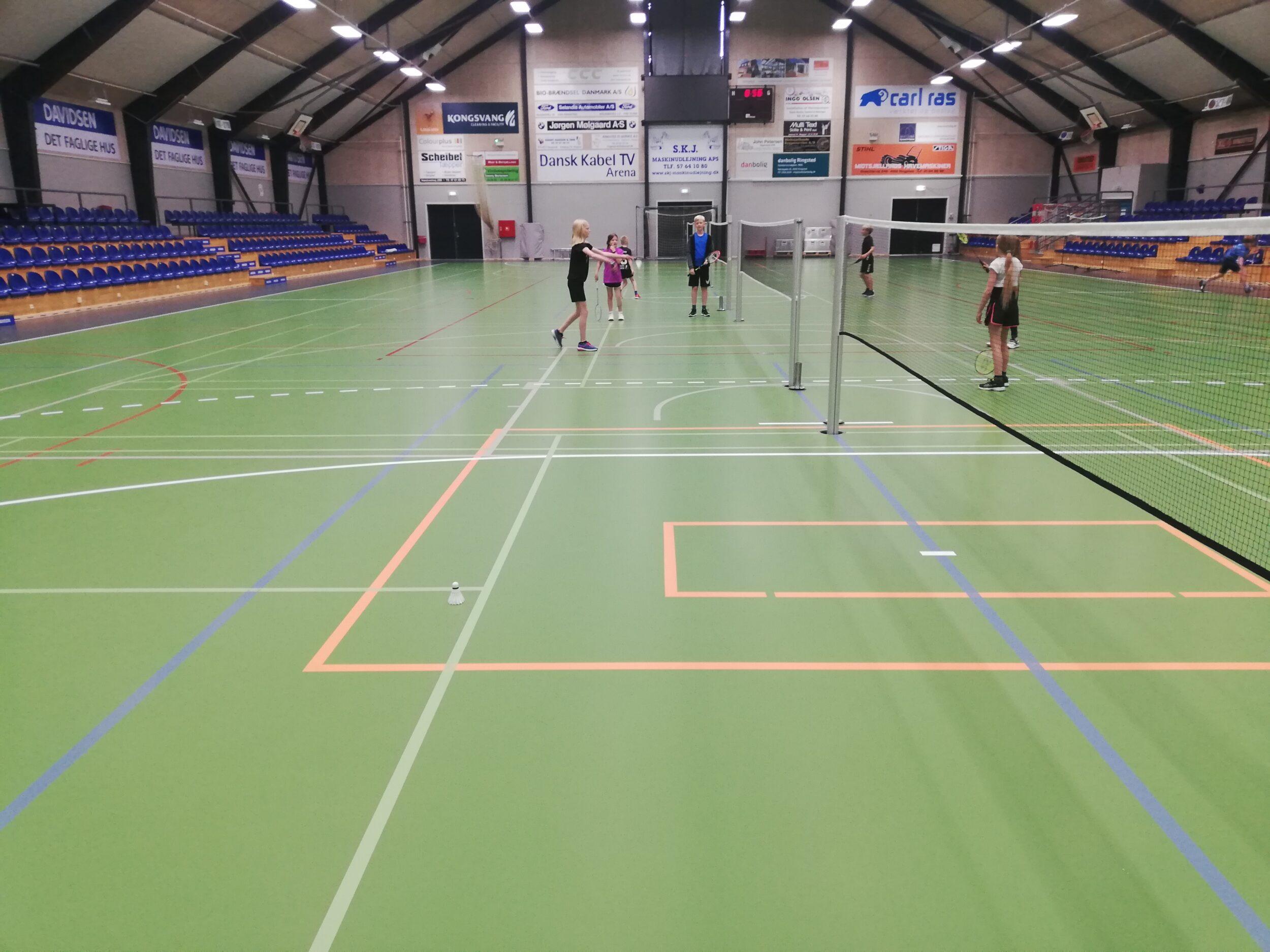 Sjov badminton